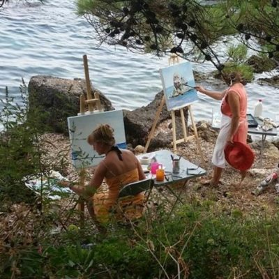 outdoor-painting-at-the-picturesque-poros-seashore(10)