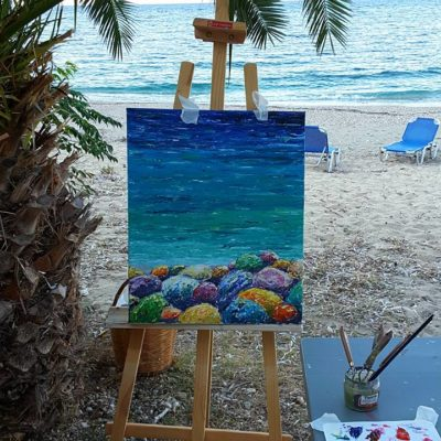outdoor-painting-at-the-picturesque-poros-seashore(2)