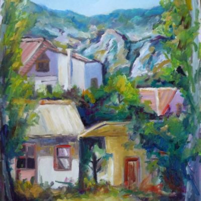 painting-of-poros-by-metaxart-artist-done-during-one-week-workshops