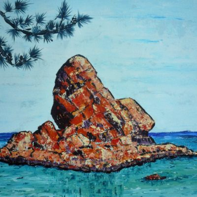 painting-of-poros-rocky-island-by-metaxart-artist-done-during-one-week-workshops(2)
