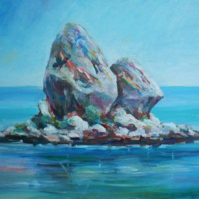 painting-of-poros-rocky-island-by-metaxart-artist-done-during-one-week-workshops(3)